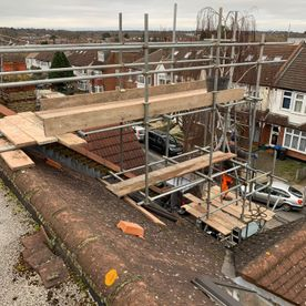 scaffolding photos, esher, cobham, claygate, thames ditton, surrey